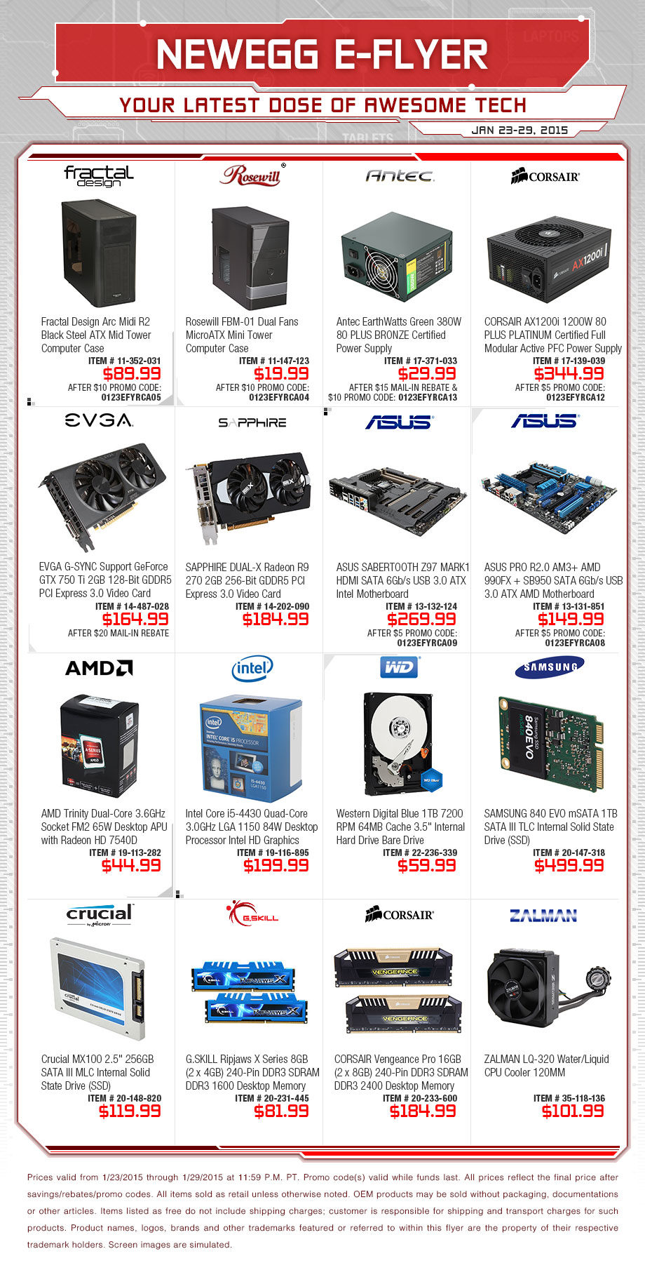 Newegg Weekly Flyer - Your Latest Dose of Awesome Tech (EN