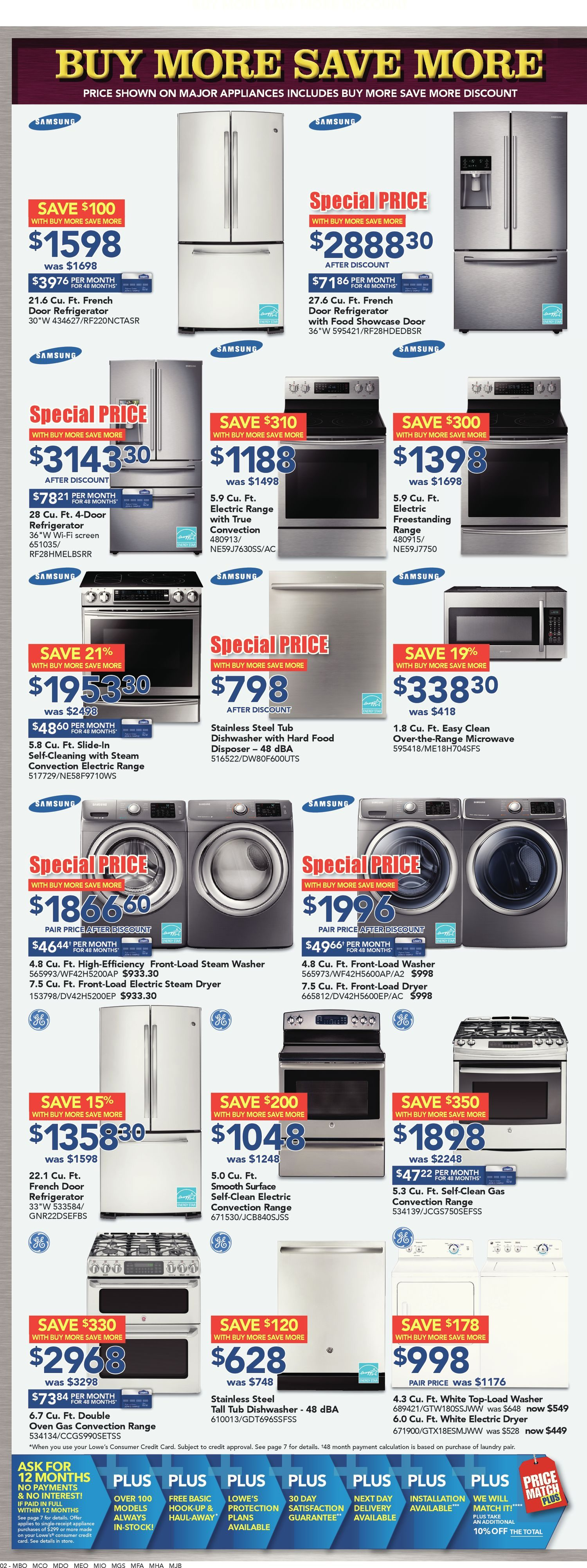 Lowes Weekly Flyer Buy More Save Oct 22 28 3976 Fuel Filter