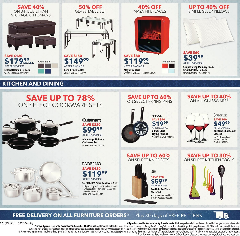 7342263694a Best Buy Weekly Flyer - Weekly - Boxing Week-Long Sale - Dec 25 – 31 -  RedFlagDeals.com