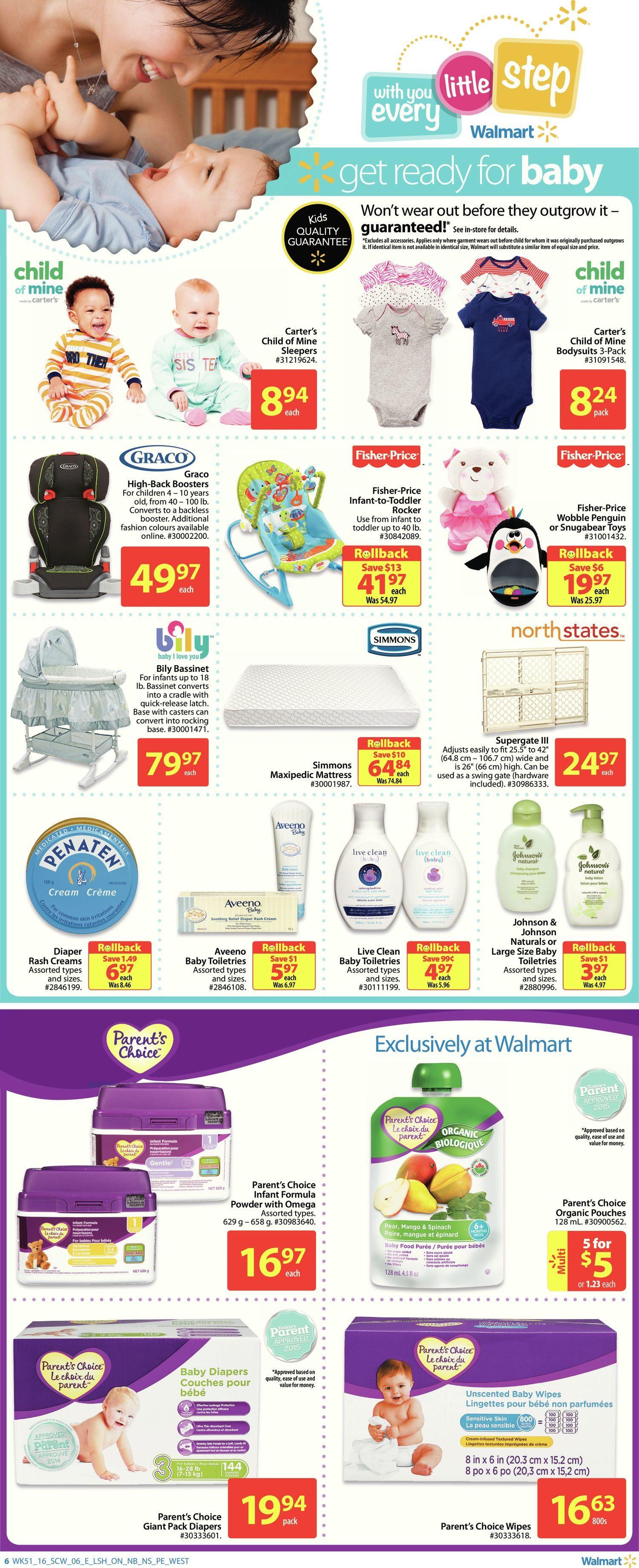 Walmart Weekly Flyer - Supercentre - Everyday Essentials - Jan 14