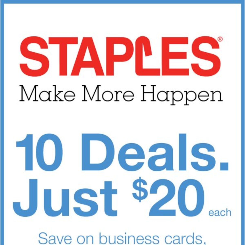 staples weekly flyer weekly make more happen mar 9 – 15