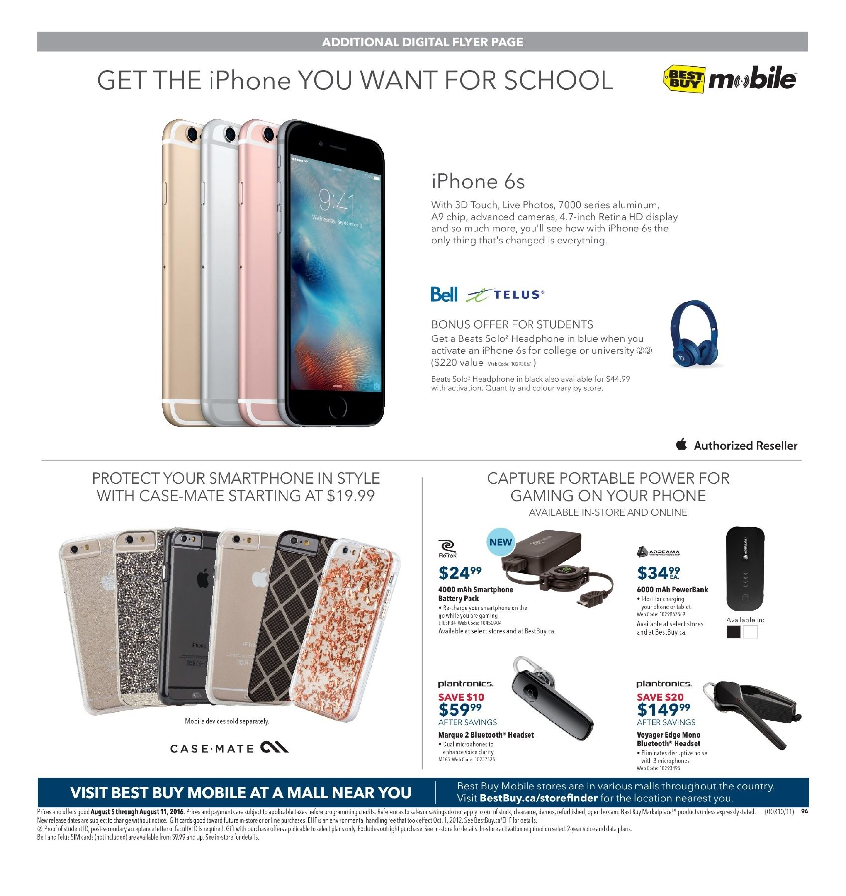 Best buy weekly flyer weekly all you need for an a school year best buy weekly flyer weekly all you need for an a school year aug 5 11 redflagdeals fandeluxe Gallery