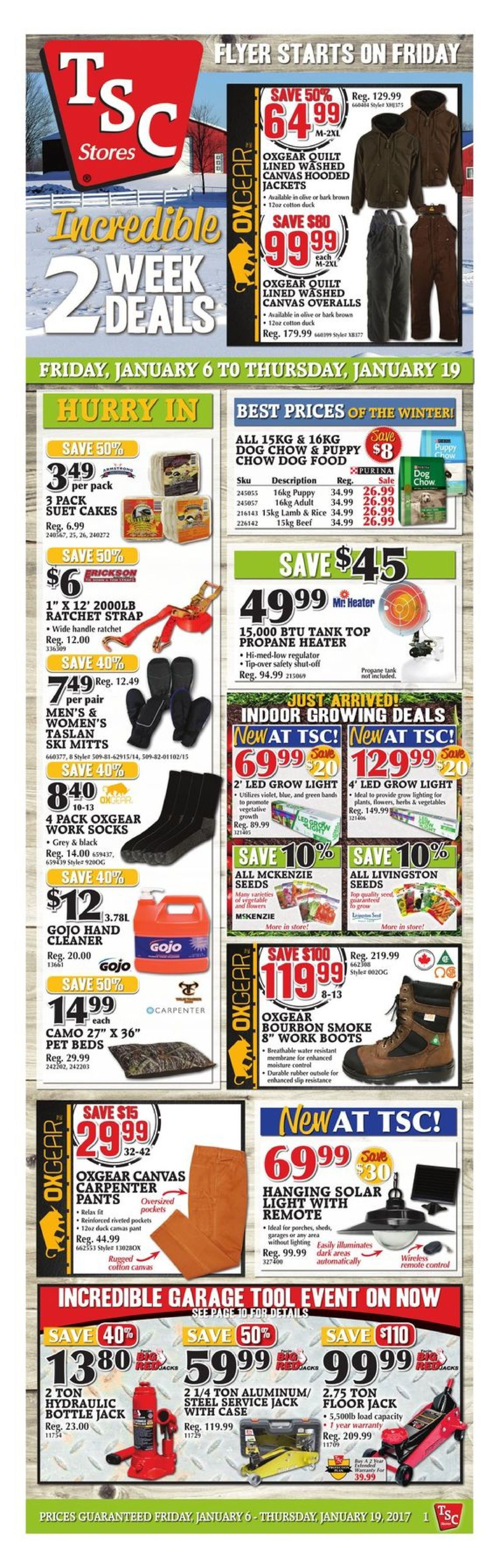 Tsc Stores Weekly Flyer 2 Weeks Of Savings Jan 6 19 Wiring For Front Component Speakersimg13661jpg