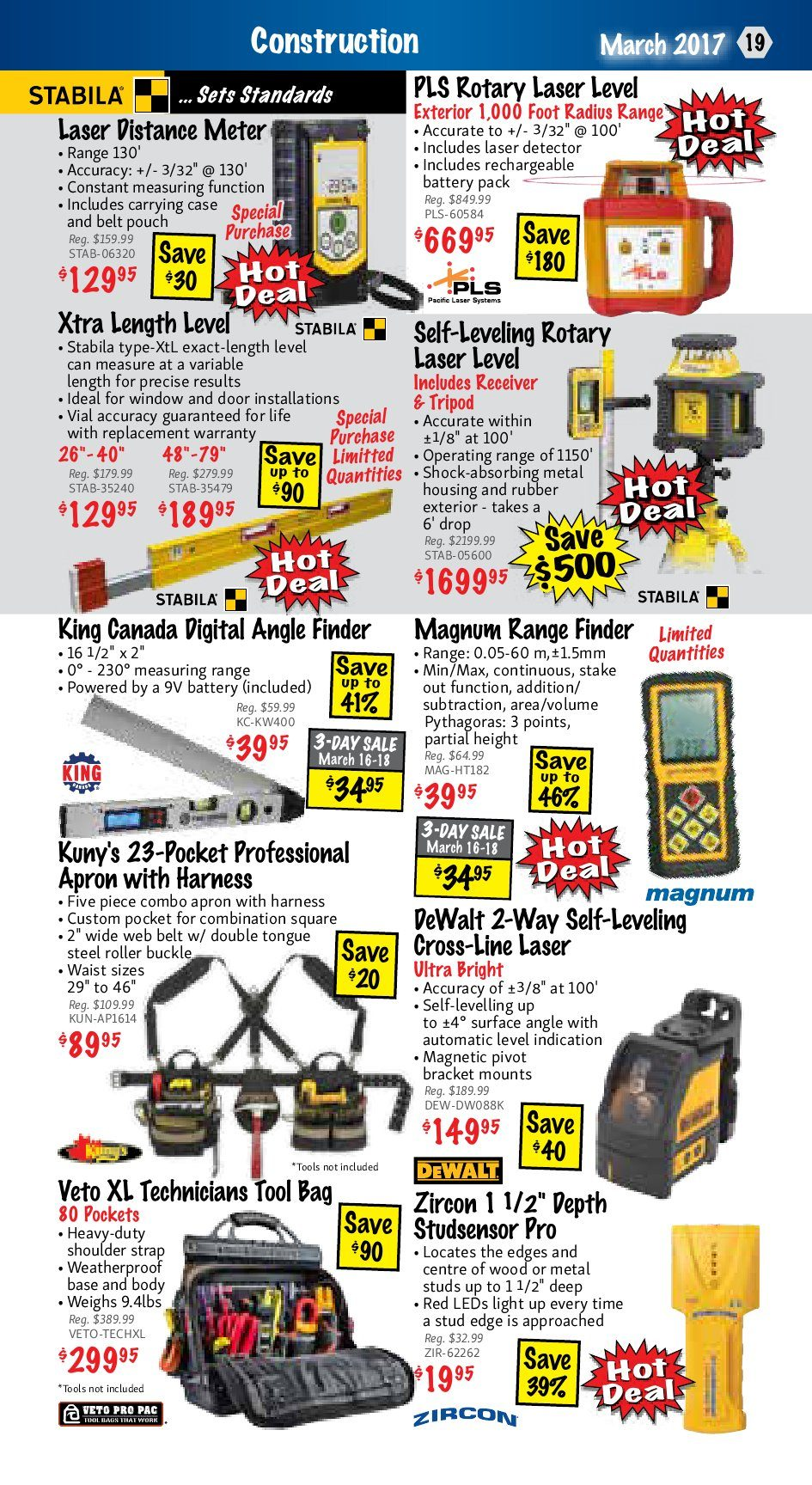Kms Tools Weekly Flyer Power Tool Sale Mar 1 31 Klein 90 To 240v Ac Digital Circuit Breaker Finder Trade Me