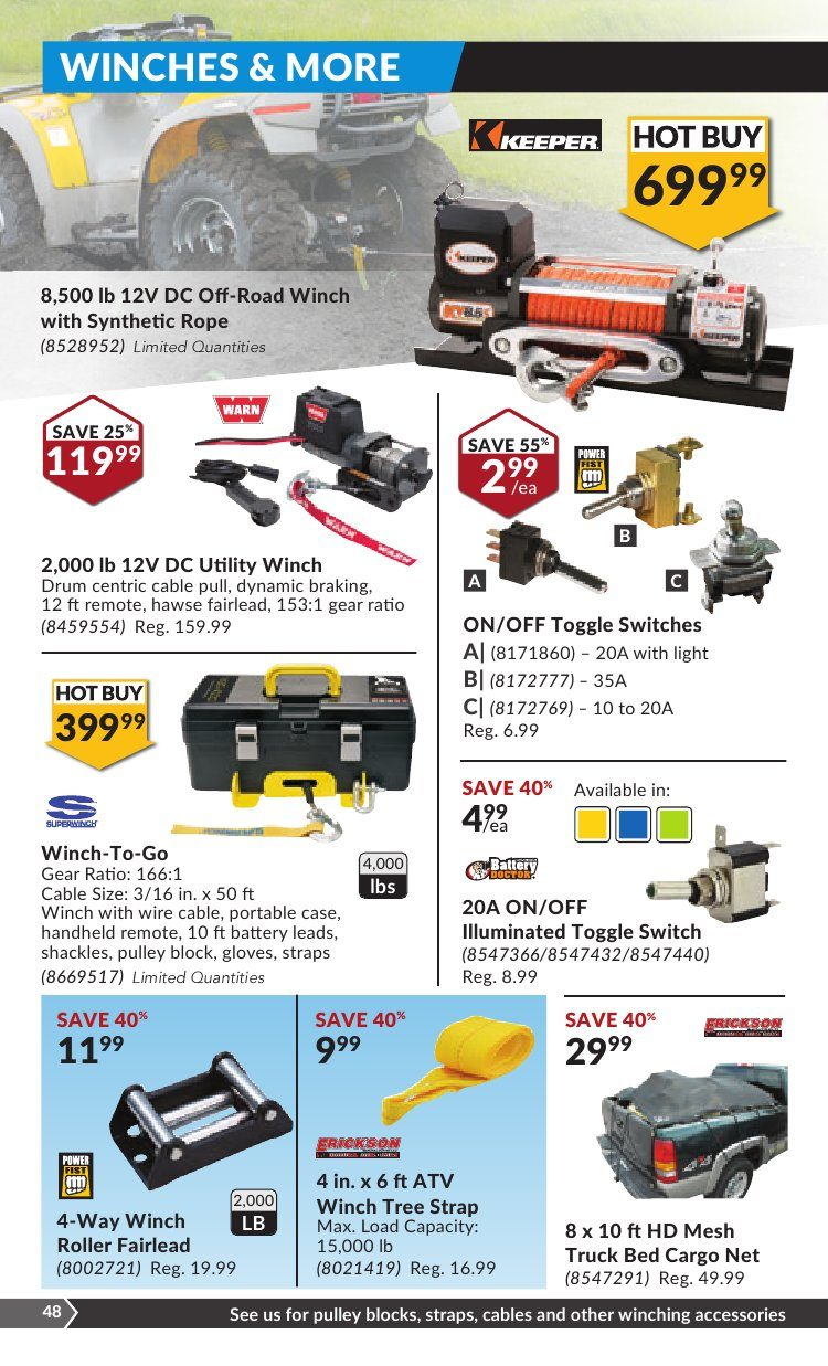 Princess Auto Weekly Flyer Not Just For Dads Toys Jun 13 25 2 Way Switch Winch
