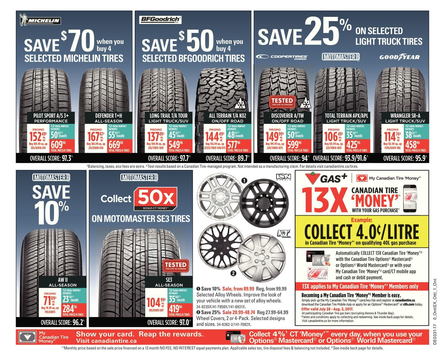 Canadian Tire Weekly Flyer - Weekly - Live For Summer - Jul 28 u2013 Aug 3 - RedFlagDeals.com  sc 1 st  RedFlagDeals.com & Canadian Tire Weekly Flyer - Weekly - Live For Summer - Jul 28 ...
