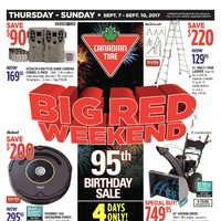 - Big Red Weekend - 95th Birthday Sale Flyer