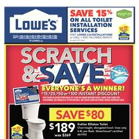 - Weekly - Scratch & Save Flyer