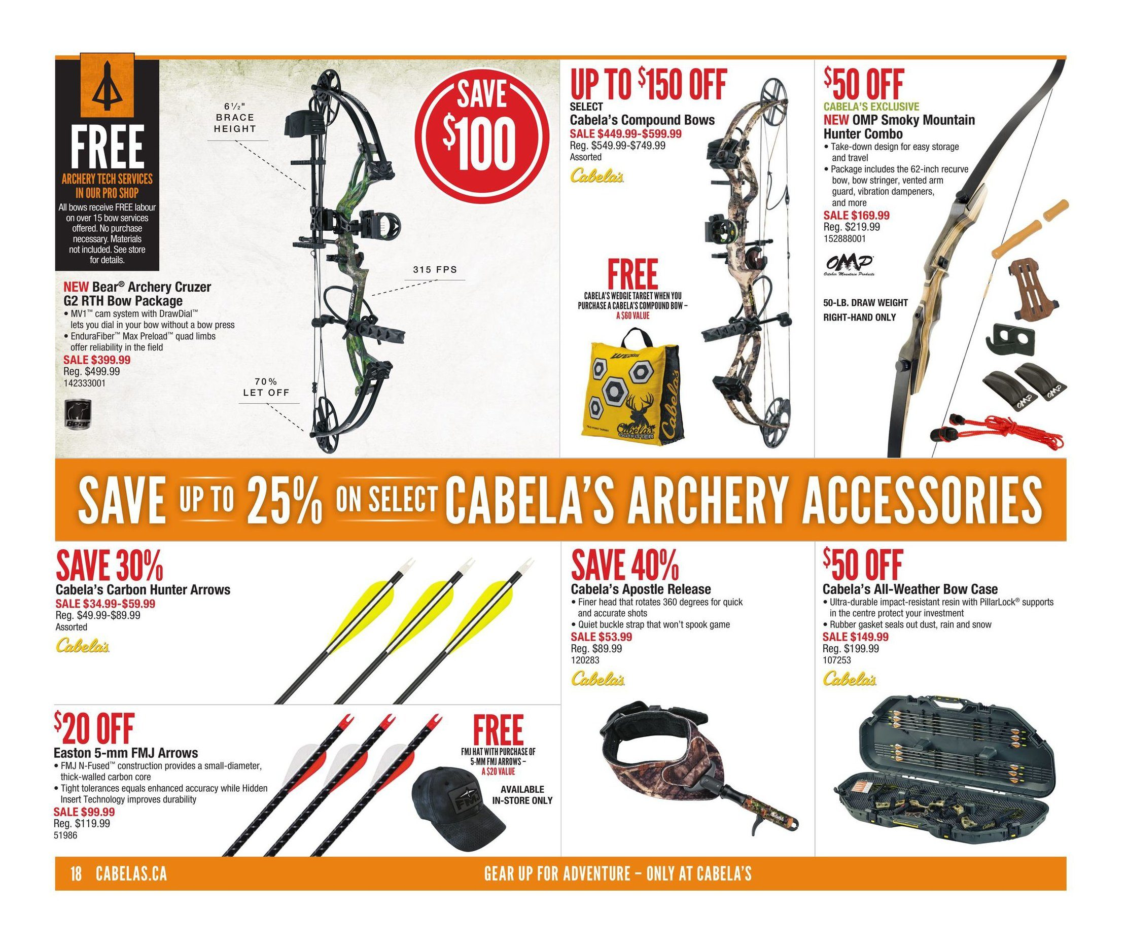 Cabelas Weekly Flyer - Fall Great Outdoor Days - Sep 7 – 20 -  RedFlagDeals.com 94e5f19654