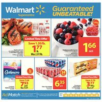 Walmart - Supercentre - Guaranteed Unbeatable! Flyer