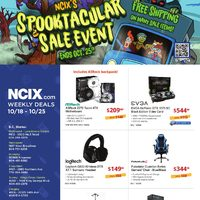 - Weekly - Spooktacular Sale Event Flyer