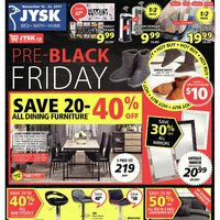 JYSK - Weekly - Pre-Black Friday Flyer