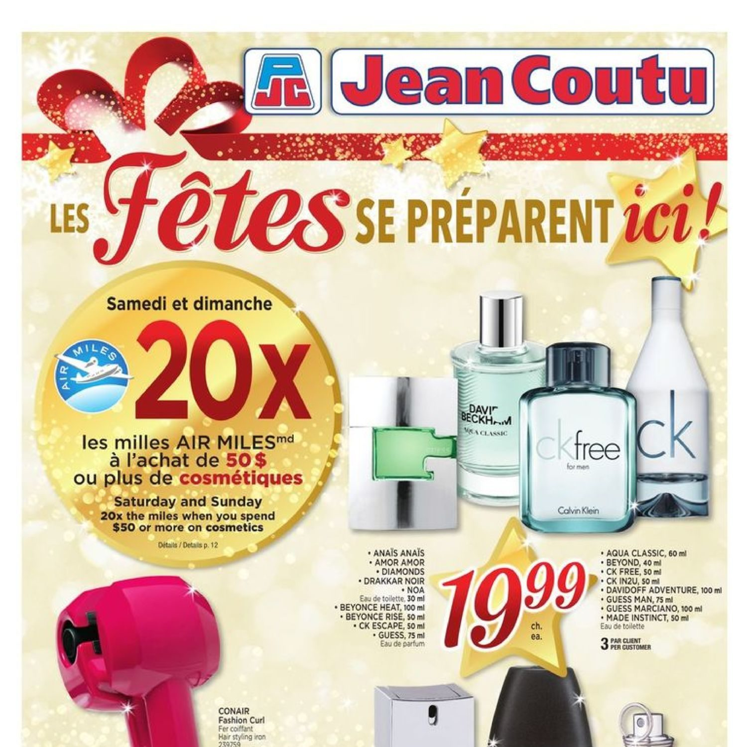 Jean Coutu Weekly Flyer Wrap Up The Holidays Nov 9 15
