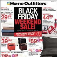 Home Outfitters - Weekly - Black Friday Weekend Sale! Flyer