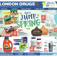 - 5 Days of Savings - Get A Jump on Spring Flyer