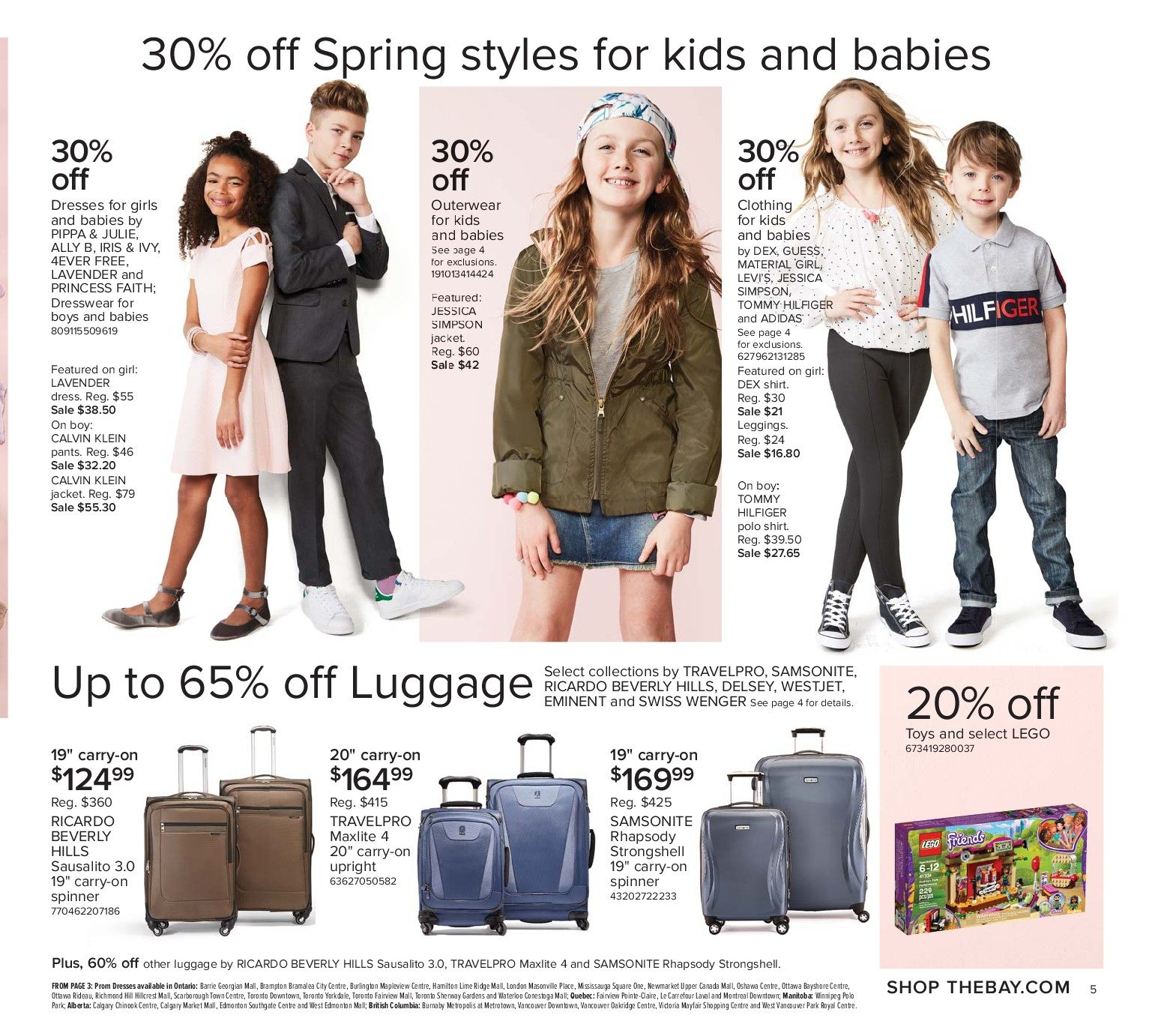 The Bay Weekly Flyer - Weekly - Own Your Style - Mar 9 – 15 -  RedFlagDeals.com