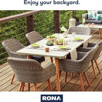 Rona - Enjoy Your Backyard Flyer