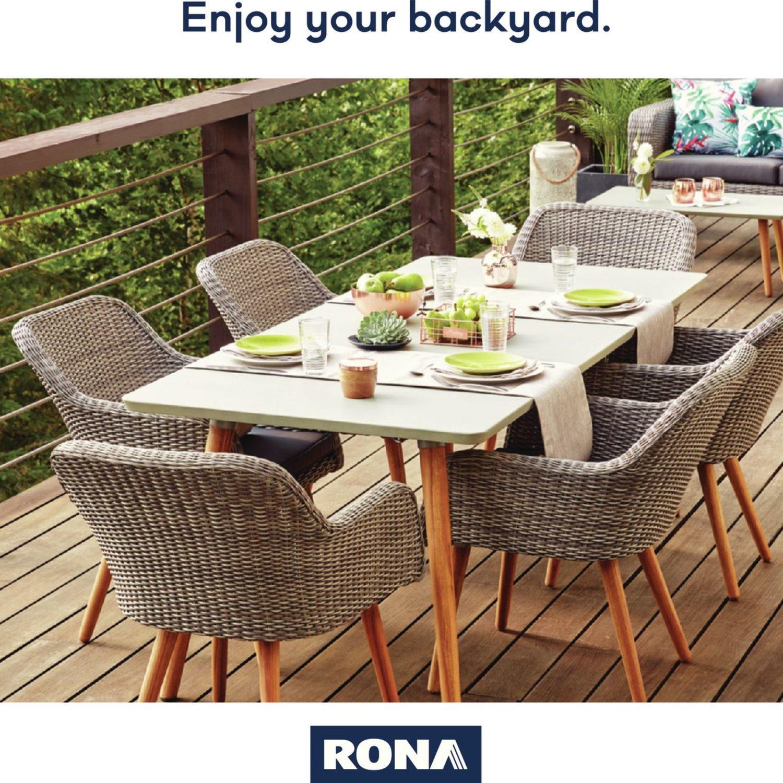 Rona Weekly Flyer Enjoy Your Backyard Mar 22 Apr 25 Redflagdeals