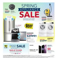 Best Buy - Thunder Bay Only - Spring Appliance Sale Flyer