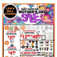 - Must Haves for Mother's Day Sale Flyer