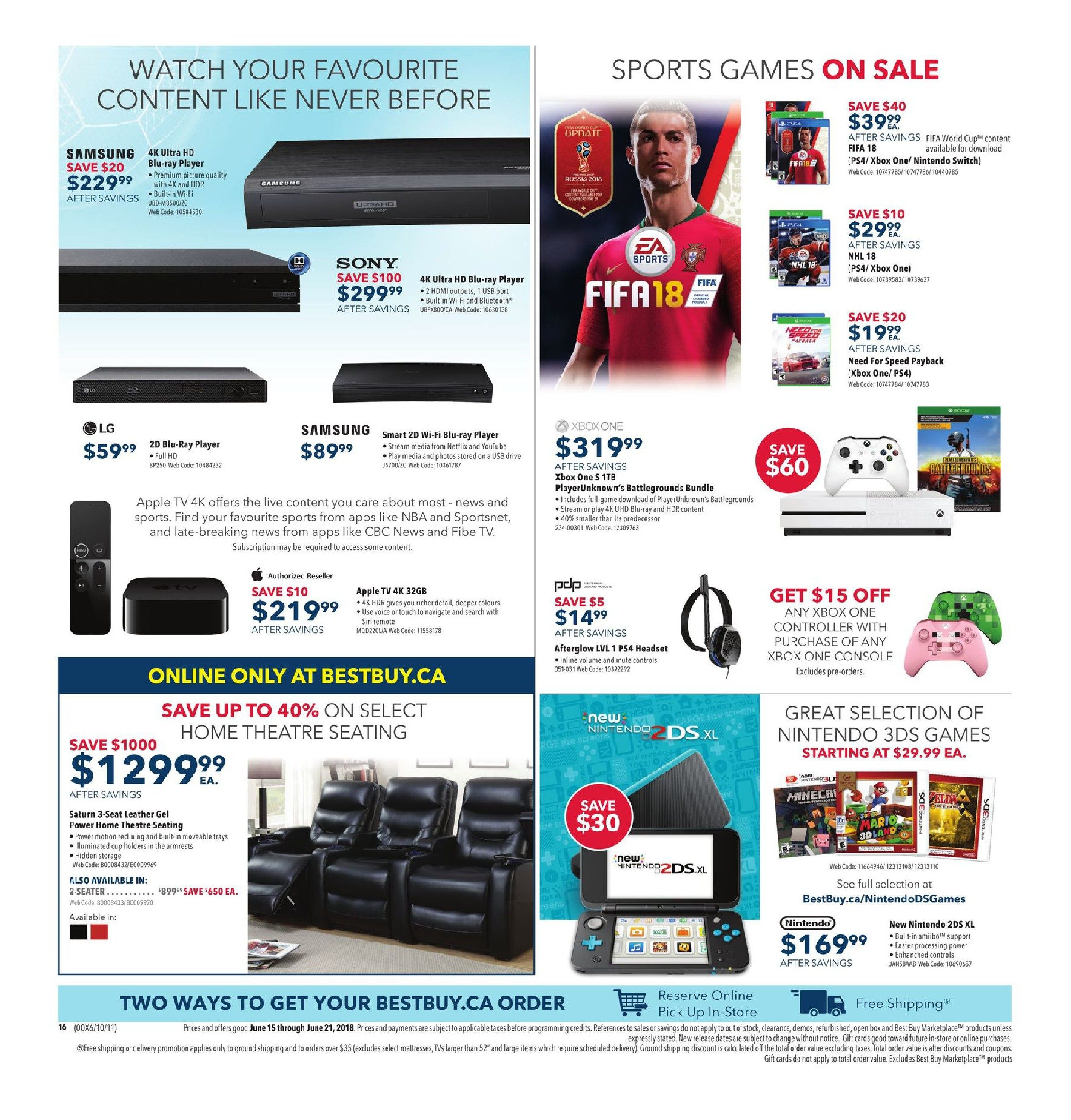 a616894ca63ad9 Best Buy Weekly Flyer - Weekly - Save Big On The Gifts Dad Really Wants -  Jun 15 – 21 - RedFlagDeals.com