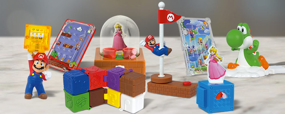 Super Mario Happy Meal Toys Are Back At McDonald's Canada (June 2018)