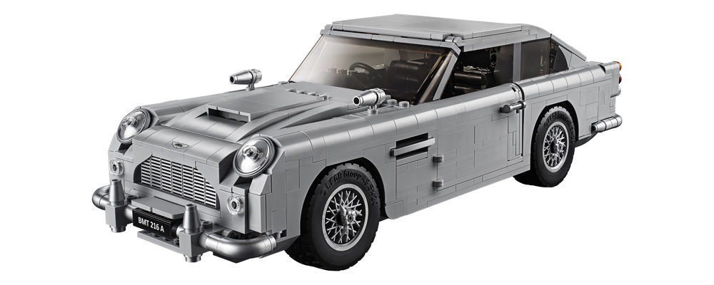 LEGO Releases New James Bond Themed Aston Martin DB5 Set