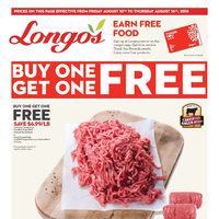 Longos - Buy One Get One Free Flyer
