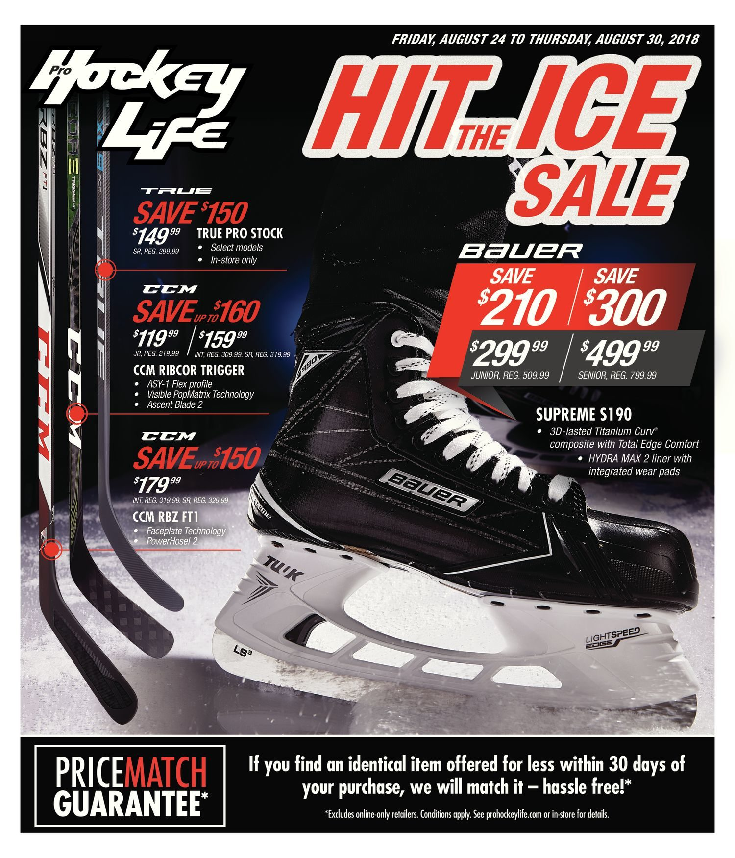 c72972a50a0 Pro Hockey Life Weekly Flyer - Hit The Ice Sale - Aug 24 – 30 -  RedFlagDeals.com