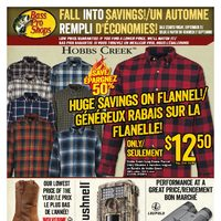 Bass Pro Shops - Fall Into Savings! Flyer