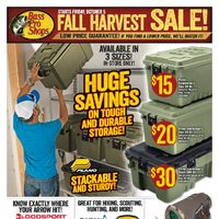 Bass Pro Shops - Fall Harvest Sale! Flyer