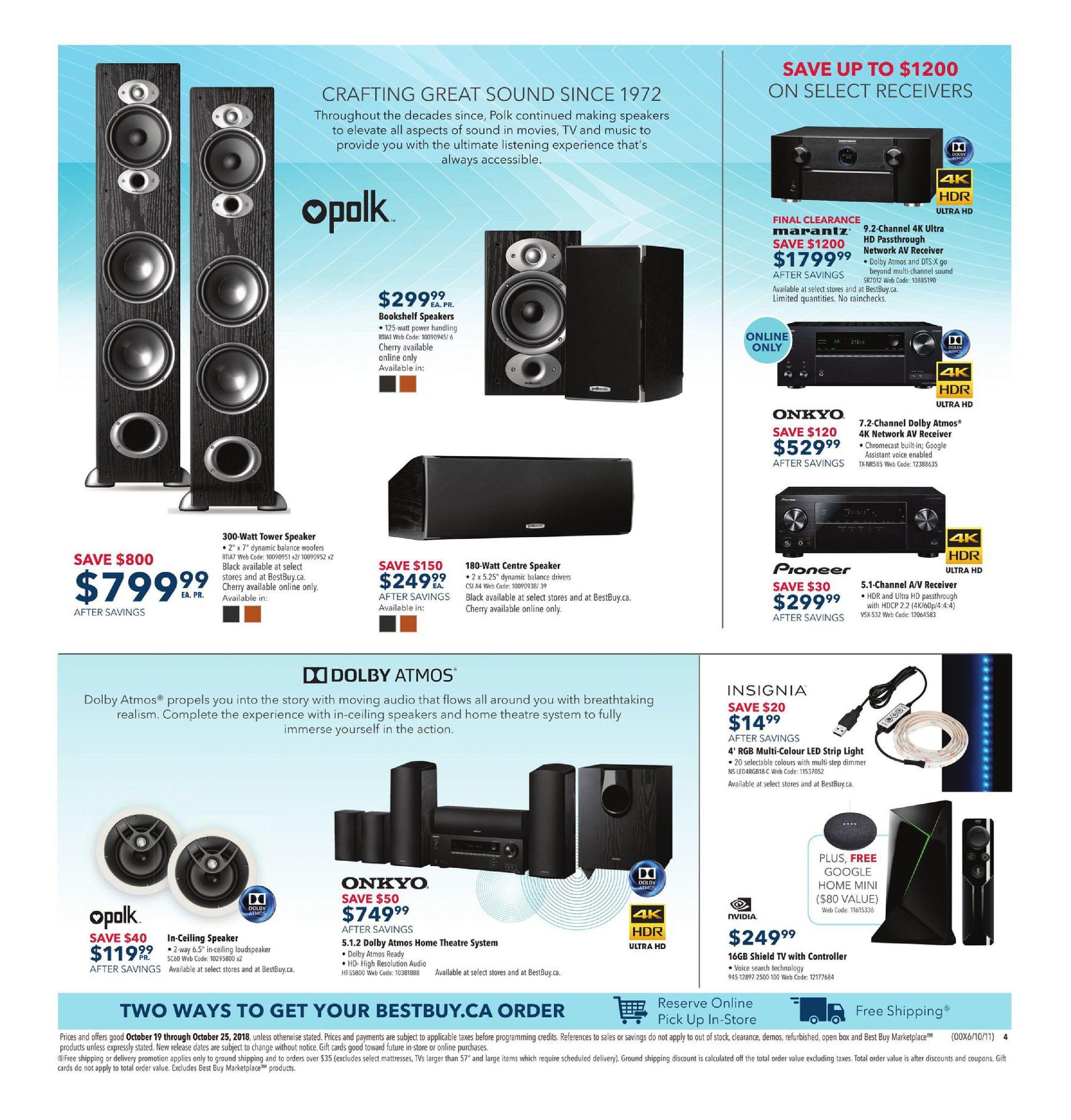 Best Buy Weekly Flyer Smart Savings On Tech Oct Digital Alliance Mouse Gaming G7 Alpha Drak Gray 19 25