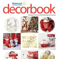 Walmart - Decorbook - Holiday Magic Starts With Believing Flyer
