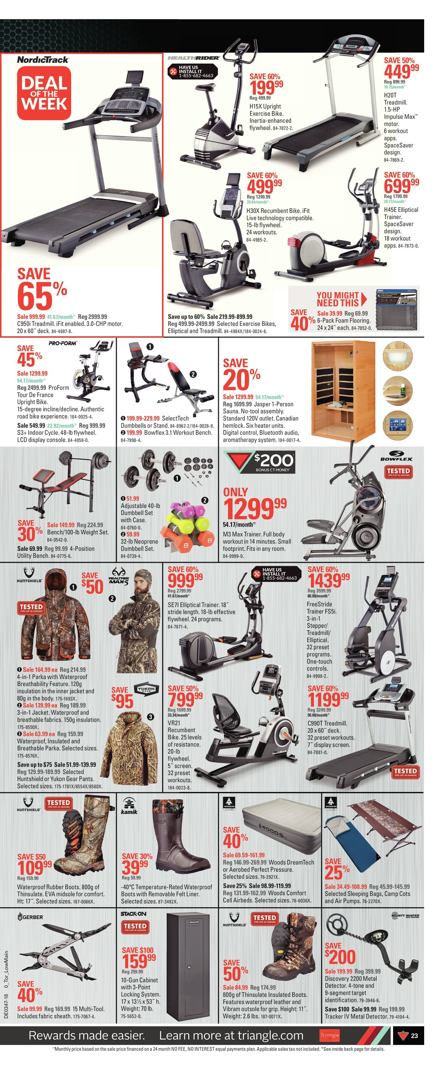 Canadian Tire Weekly Flyer 7 Day Event The Big Pre Black Friday Heavy Hauler 7998 Sale Nov 16 22
