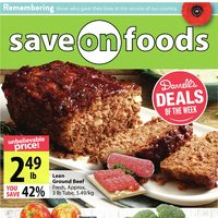 Save On Foods - Weekly Specials Flyer