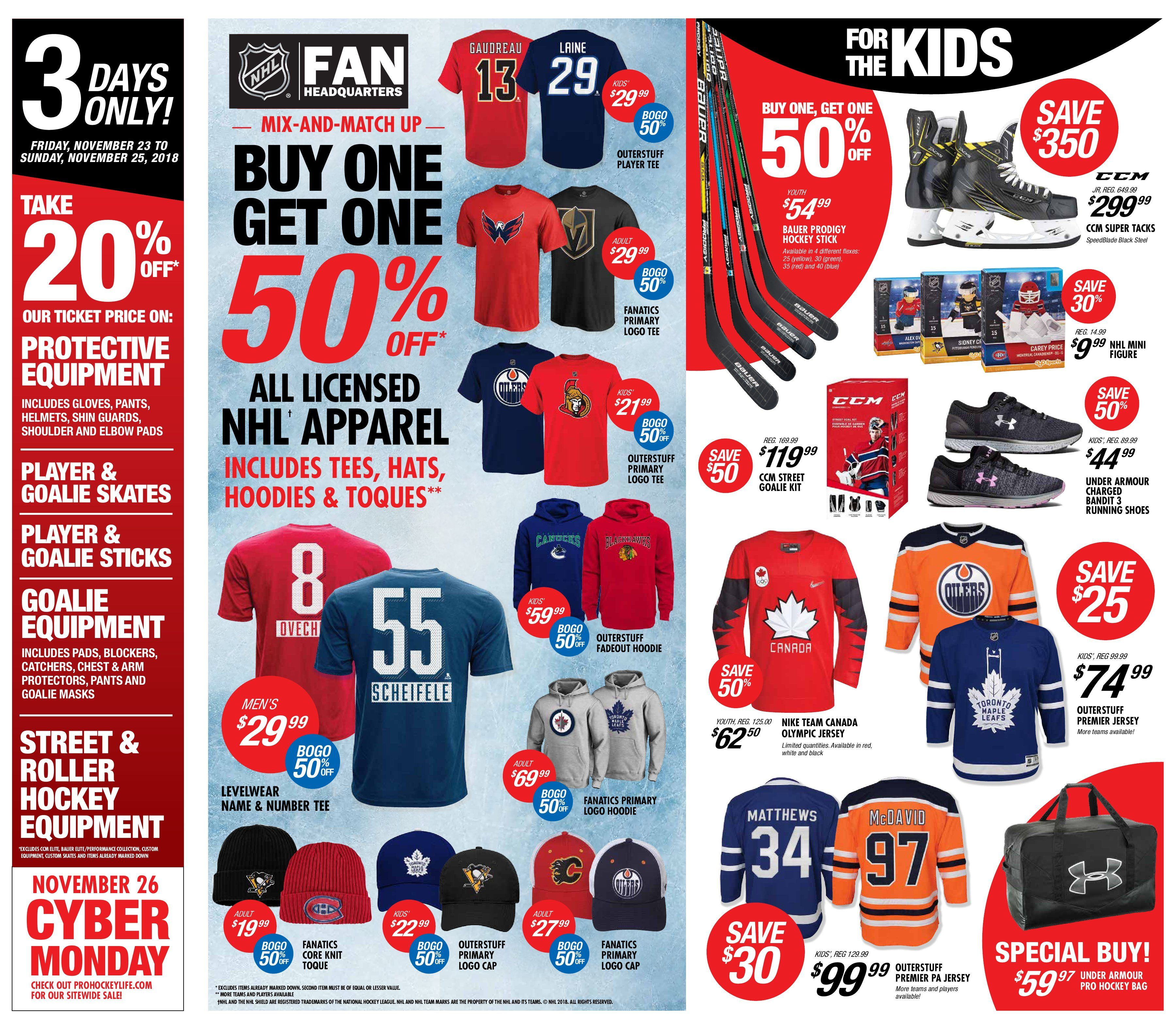 cee413217 Pro Hockey Life Weekly Flyer - Black Friday Sale - Nov 23 – 29 -  RedFlagDeals.com