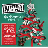 Kitchen Stuff Plus - Get Christmas Ready! Flyer