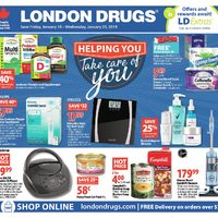 London Drugs - 6 Days of Savings - Helping You Take Care Of You Flyer