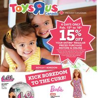 Toys R Us - 4 Day Event! Flyer
