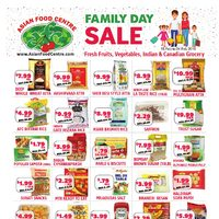 Asian Food Centre - Family Day Sale Flyer
