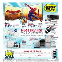 - Weekly - Huge Savings on Home Tech Flyer