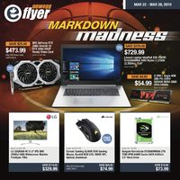 Newegg - Markdown Madness Flyer