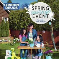 London Drugs - Spring Savings Event Flyer
