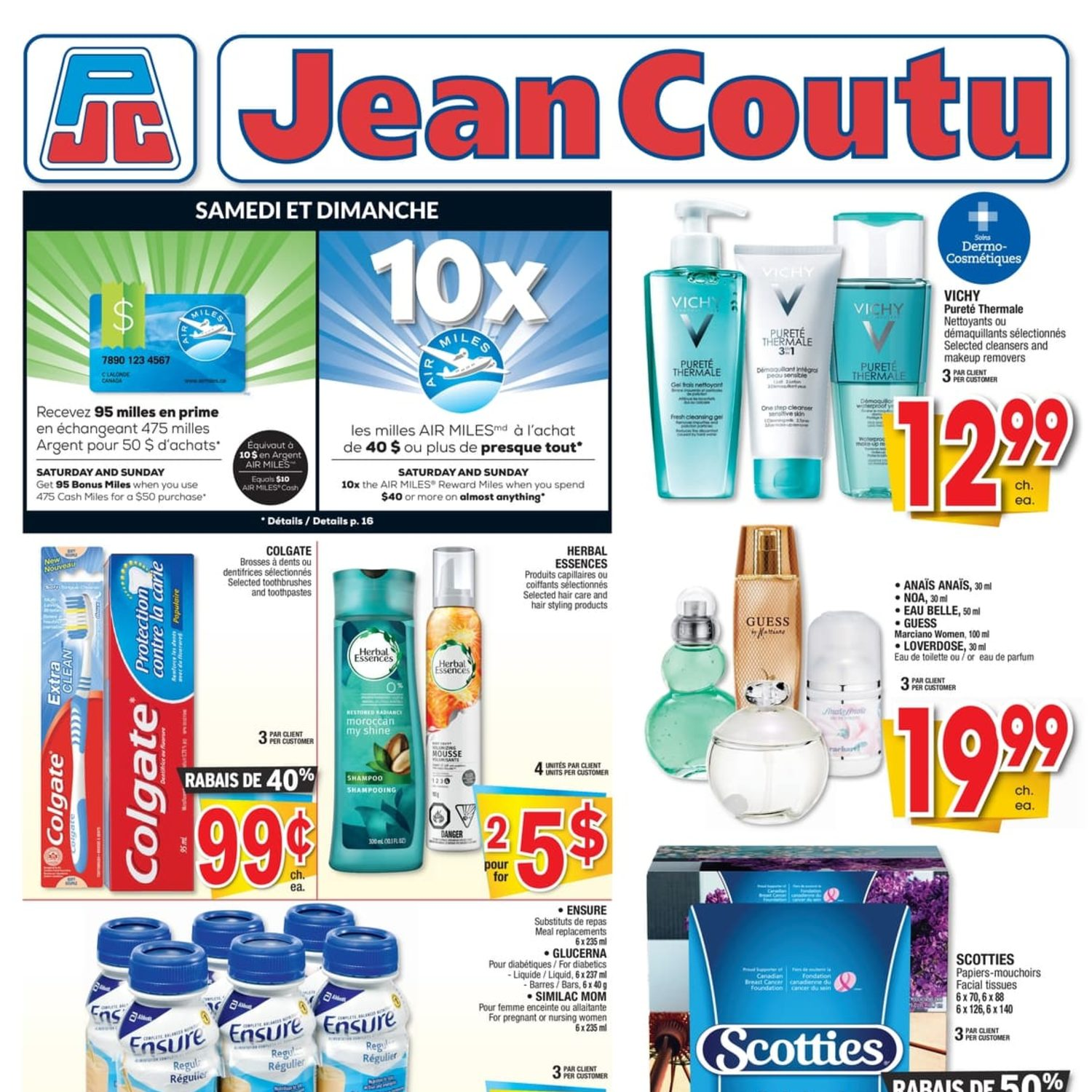Jean Coutu Weekly Flyer Weekly Apr 25 May 1 Redflagdealscom