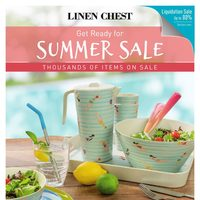 Linen Chest - Get Ready For Summer Sale Flyer