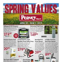 PeaveyMart - Spring Values Flyer
