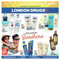 London Drugs - Special Sun Care Savings! Flyer