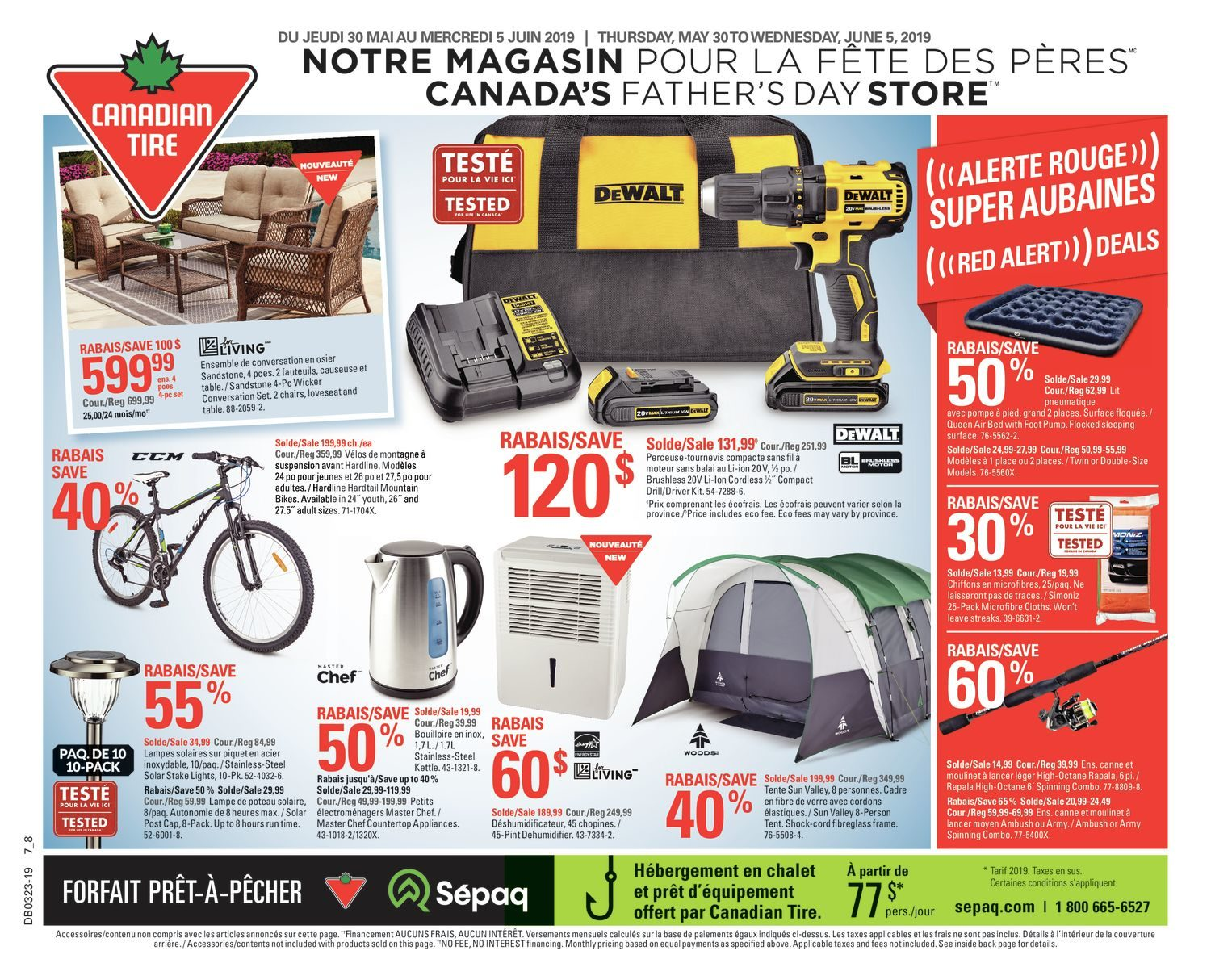 Canadian Tire Weekly Flyer Weekly Canada S Father S Day Store May 30 Jun 5 Redflagdeals Com