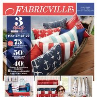 Fabricville - Fashion Clearance Now On! Flyer