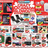 Factory Direct - Crazy O Canada Blowout! Flyer